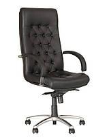 Кресло для руководителей FIDEL lux steel chrome, фото 1
