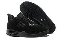 Баскетбольные кроссовки Jordan 4 Retro Black