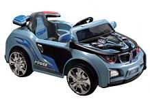 Детский электромобиль BMW HL 518 голубой на радиоуправлении, фото 2
