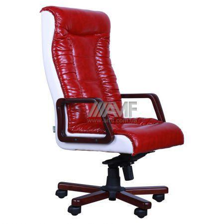 Кресло Кинг Экстра ANYFIX белый Неаполь N-01