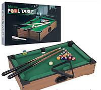 Настольная игра бильярд TableTop, мини бильярд mini Pool Table - 21x10.5x4cm
