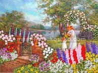 Набор для вышивания лентами Райский уголок