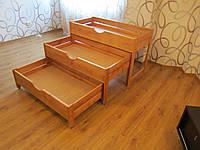 Кровать детская  раздвижная деревянная