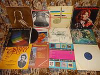 Граммпластинки много, разные, советские, грамплатівки