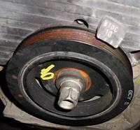 Шкив коленвала 6 ручейков демпферный (Шкив коленчатого вала)HyundaiSanta Fe 2.7 V62000-2006