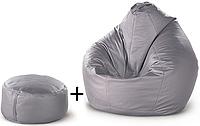 Кресло-груша + пуф-цилиндр FAT BOY, фото 1