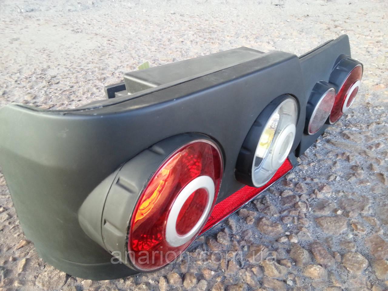 Задние модульные фонари на ВАЗ 2115 (черные 3D)