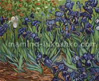 Набор для вышивки крестом Ирисы, по картине Ван Гога