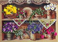 Набор для вышивания лентами Бабушкины цветы