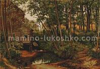 Набор для вышивки крестом Мельница в лесу. Шишкин