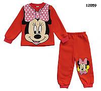 Теплый костюм Minnie Mouse для девочки., фото 1