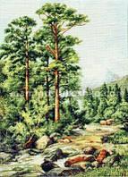Набор для вышивки крестом Горная речка