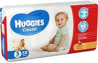 Подгузники Huggies Classic 5 Mega 58 шт