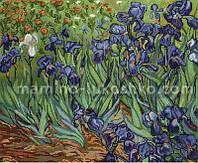 Набор для вышивки гобелена Ирисы, по картине Ван Гога