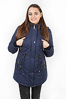 Куртка парка женская М4 синяя