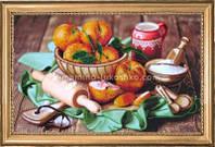 Набор для вышивки бисером Персики на столе