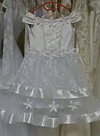 """Детское праздничное платье """"Иней-1"""" (на 3-5 лет) И-16-1"""