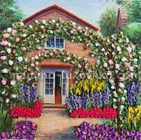 Набор для вышивания лентами Розовый сад