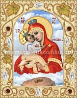 Набор для вышивки бисером Почаевская икона Божией Матери