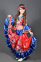 Карнавальный костюм Цыганочка Цыганка для девочки. Детский новогодний маскарадный костюм