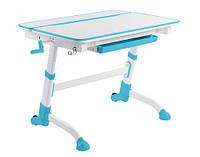 Детский стол-трансформер FunDesk Volare Blue + лампа L2