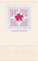 Набор-открытка для вышивки крестом Розовая нежность