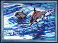 Схема для вышивки бисером Дельфины (по картине Е. Самарской)