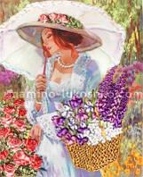 Набор для вышивания лентами В ее саду