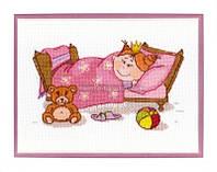 Набор для вышивки крестом Маленькая принцесса