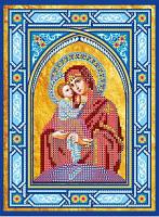 Схема для вышивки бисером Икона Богородицы Почаевская