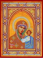 Схема для вышивки бисером Икона Богородицы Казанская