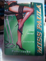 Чулки сетка шампань 2 р Miss Paula