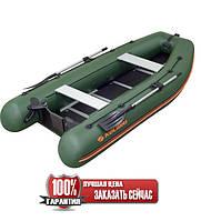 Надувная лодка Колибри КМ-330DSL моторная килевая