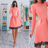 Платье женское 33295 Неопреновое платья