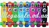 Скейтборд/скейт Penny Board (Пенни борд фиш) Fishskateboards: фиолетовый/желтый, до 80кг - Фото