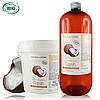Кокосовое рафенированное (Coprah) BIO, растительное масло 1 л