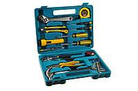 Домашний набор инструментов для ремонта 21 предмет, ручной набор инструментов Home Owner`s Tool Set 21 pcs, фото 1