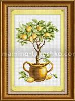 Набор в алмазной технике Лимонное дерево