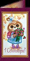 Набор для вышивки бисером открытка С Днём знаний-3