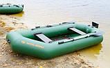 Надувная лодка Kolibri К-280Т гребная двухместная, со слань-ковриком, фото 3