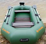 Надувная лодка Kolibri К-280Т гребная двухместная, со слань-ковриком, фото 4