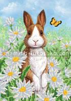 Схема для вышивки бисером Забавный кролик