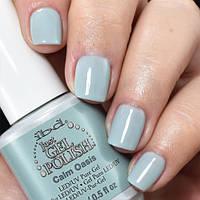 Гель-лак IBD Just Gel Polish Calm Oasis, светло-голубая эмаль