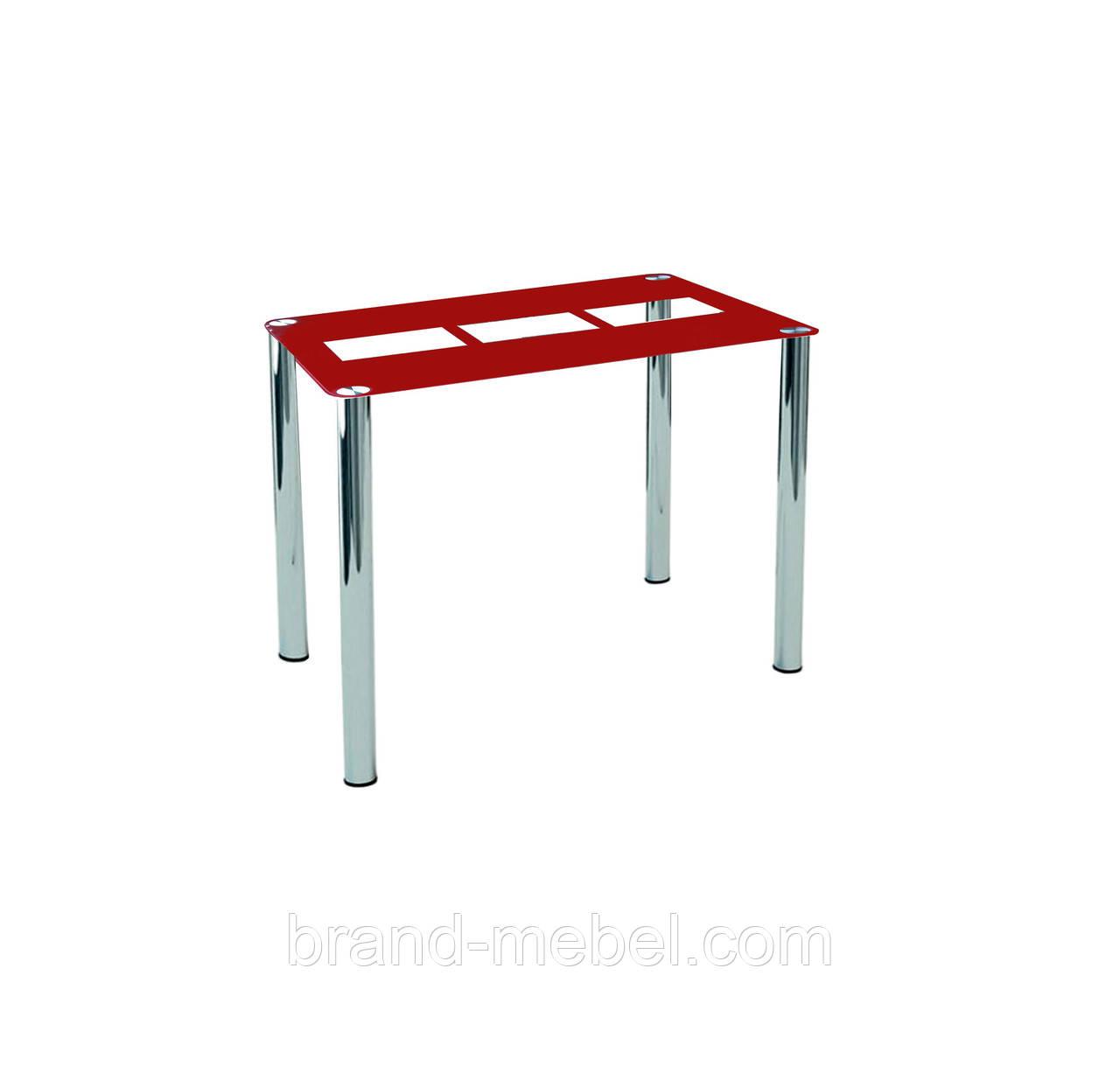 Стол стеклянный Квадро