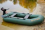 Надувная лодка Kolibri К-250Т гребная двухместная, со слань-ковриком, фото 4