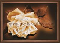 Набор со стразами Белая нежность розы
