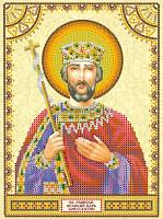 Схема для вышивки бисером Святой Константин