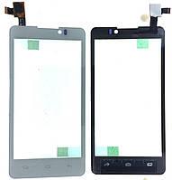 Тачскрин для Prestigio PAP4505 DUO MultiPhone/Coolpad 7290, белый