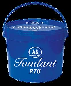 Фондант (сахарная помадка) для кондитерских изделий RTU Diamant, 15кг