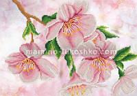 Схема для вышивки бисером Яблоня в цвету